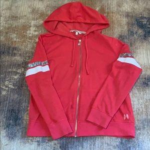 Victoria Secret Bling hoodie , SZ LG